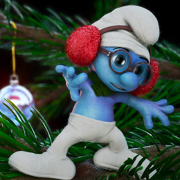 Toppen - The Christmas Smurf - cover